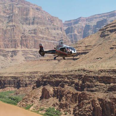 grand canyon let vrtulnikem